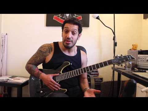 How to play 'The Number Of The Beast' by Iron Maiden Guitar Solo Lesson w/tabs