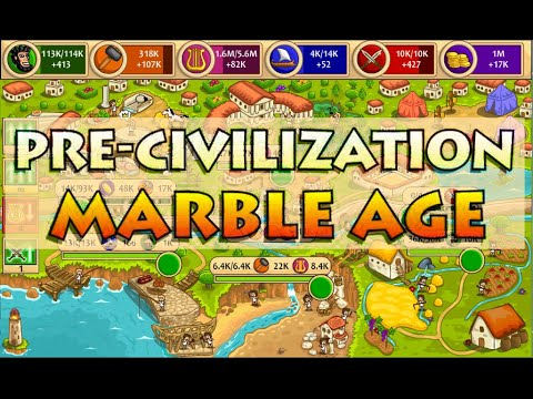 Pre Civilization Marble Age Set 1 Part 1 First Look Let's Play