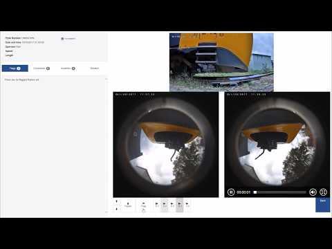 DEMO TRAIN UVIS maintenance inspection