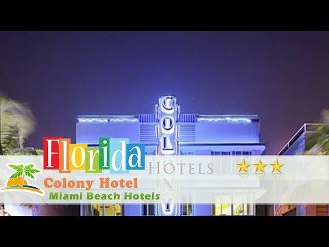 Colony Hotel - Miami Beach Hotels, Florida