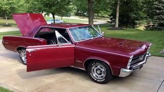 1965 Pontiac GTO - For sale at www.bluelineclassics.com