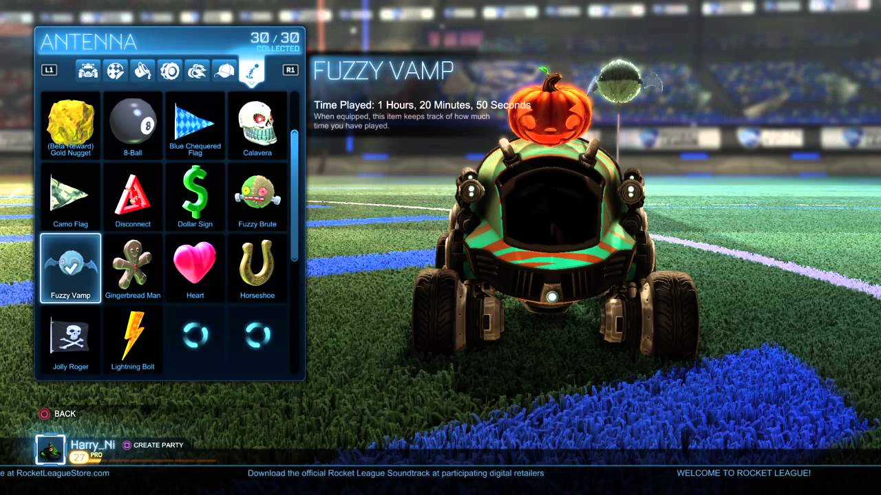 All Halloween Rocket League Rare Items (6 to collect) - YouTube