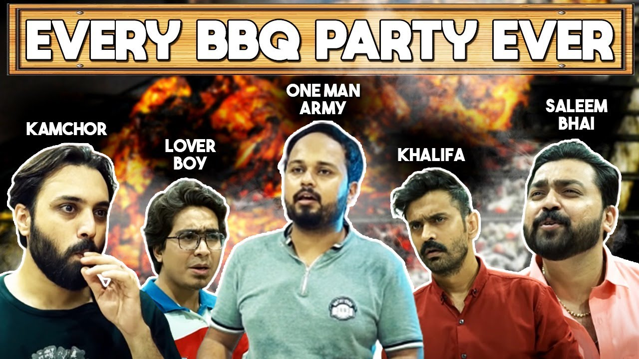 EVERY BBQ PARTY EVER   BAKRA EID SPECIAL   COMEDY VIDEO