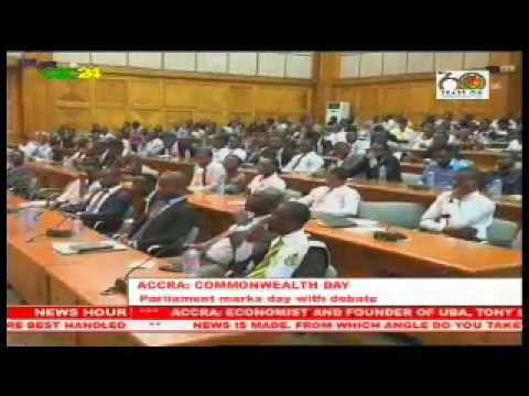 Ghana: Parliament observes Commonwealth Day