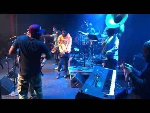 The Soul Rebels ft Robert Glasper, Lisa Fischer & Talib Kweli  live in New Orleans 12/8/17