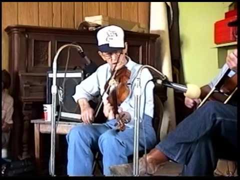 Pete McMahan fiddles Lorraine Schottische - Bethel 1997
