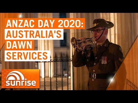 Anzac Day 2020: Dawn services from around Australia   7NEWS