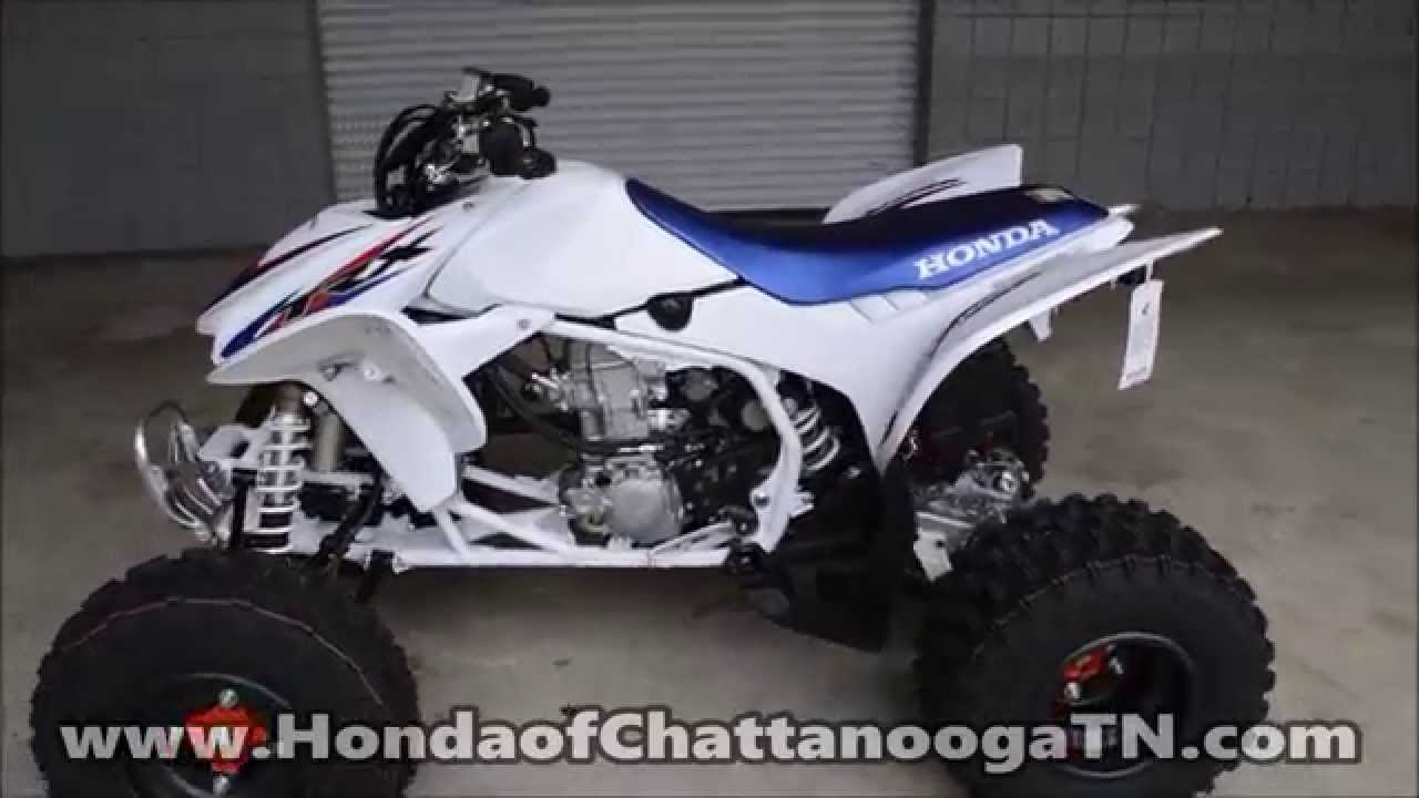 Honda Trx450r For Sale >> 2014 TRX450R Special Edition Tri Color For Sale - Chattanooga TN / GA / AL ATV Dealer - YouTube