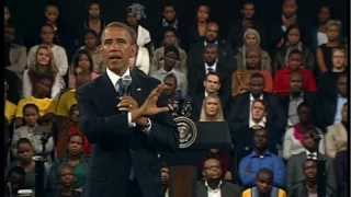 President Obama in South Africa talks about the Problem of Terrorism - Unravel Travel TV