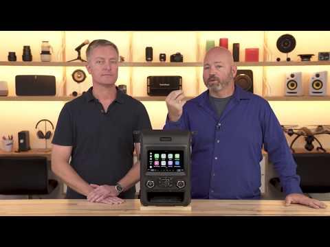 Alpine iLX-207 digital media receiver | Crutchfield video