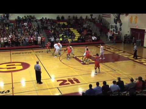 Hoffman Estates vs. Schaumburg High School Basketball Game 2-1-13