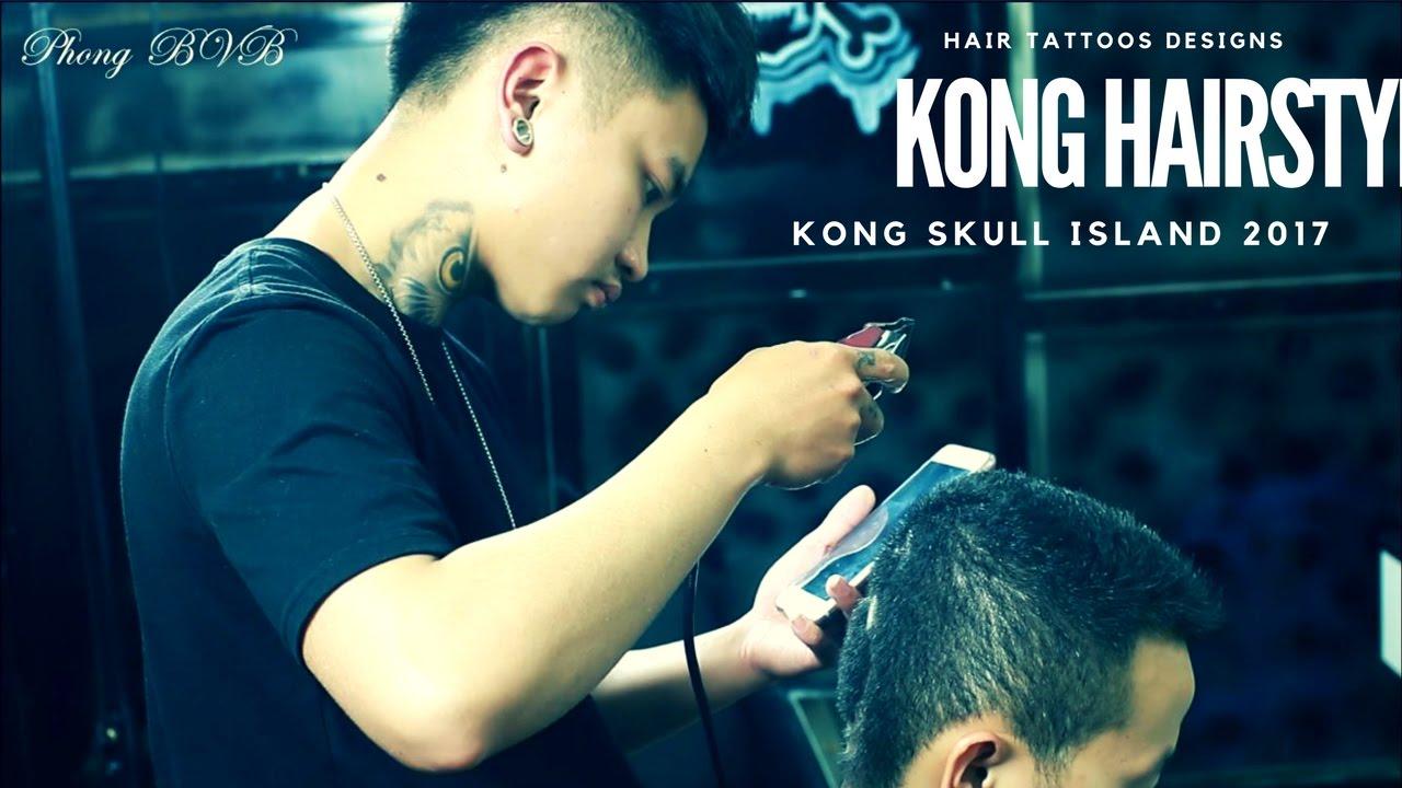 Mẫu Tóc Nam Đẹp – Kong Skull island 2017 – Đảo Đầu Lâu 2017 – Hair Tattoo Designs | Bao quát những tài liệu liên quan đến màu tóc đẹp 2017 nam đúng nhất