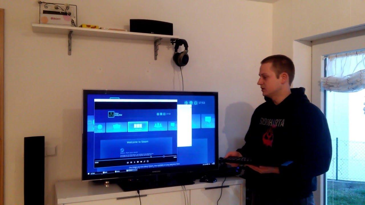 Gaming PC Als Spielkonsole Im Wohnzimmer Benutzen