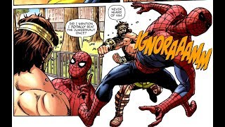 Hercules vs. Spider-Man