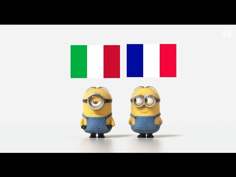 Italian supercars vs French supercars Minions Style
