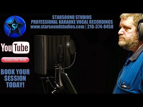 Professional Karaoke Vocal Recording Starsound Studios Best Recording Studio in Cleveland, Ohio ✅