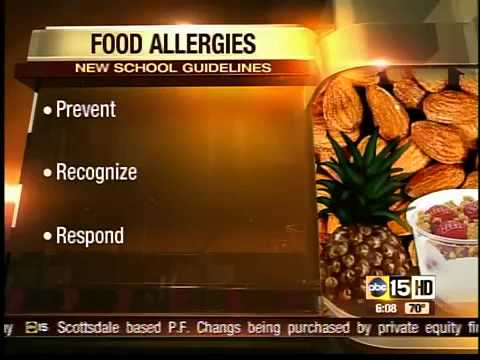 New guidelines for food allergies in Valley schools