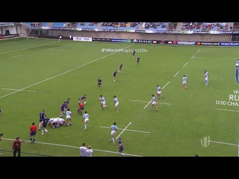 World Rugby U20 Highlights: Argentina v Scotland