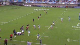World Rugby U20 Highlights: Argentina v Scotland