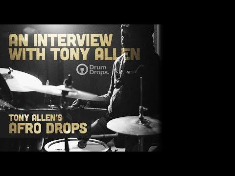Tony Allen's Afro Drops Drumdrops drum sample library mp3