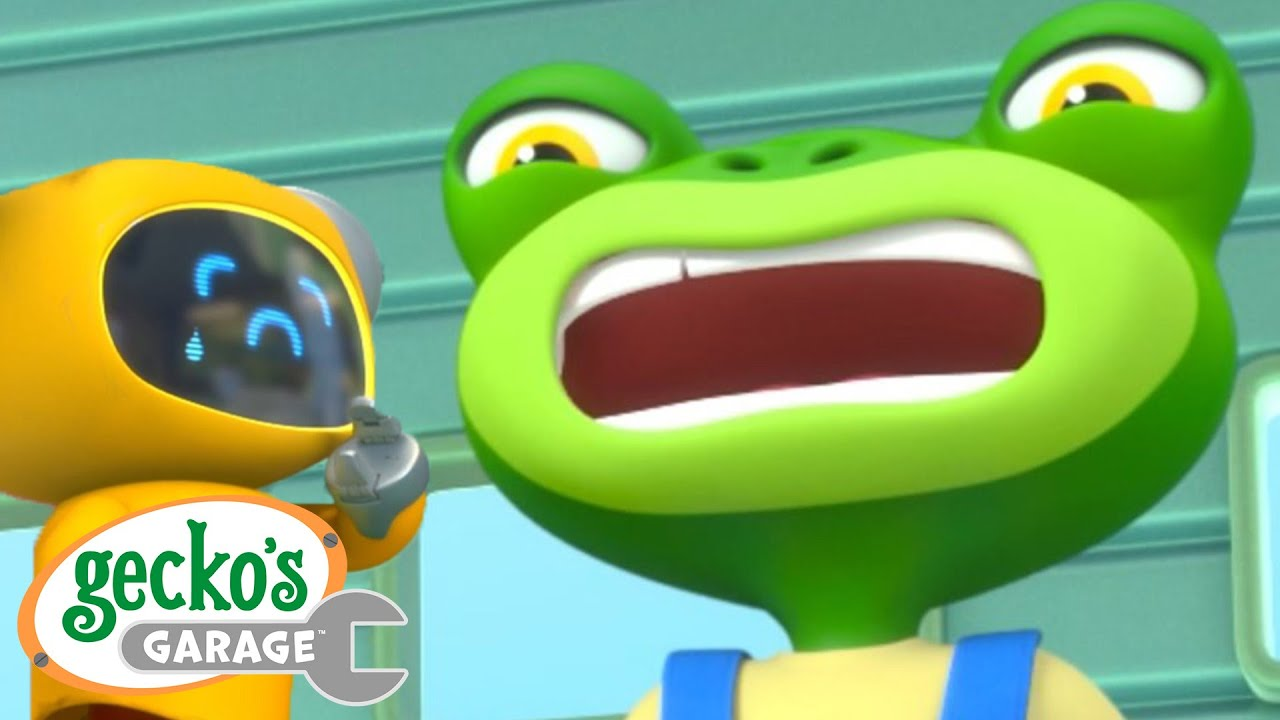 OUCH!! That Hurt!|Gecko's Garage|Funny Cartoon For Kids|Learning Videos For Toddlers