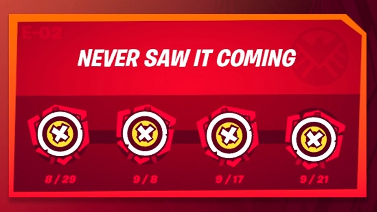 How to Complete Never Saw It Coming Punchcard - Fortnite Chapter 2 Season 4 Punchcard Guide