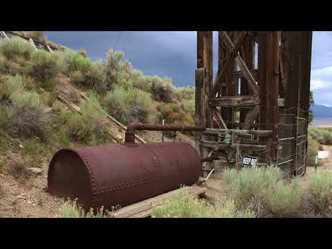 Ghost Towns & Mines: Taylor Mine, NV 2017