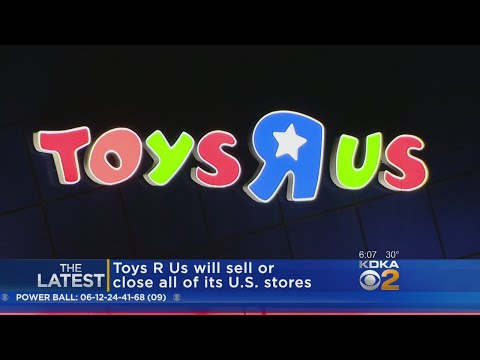 Toys R Us Closing U.S. Stores, Liquidating Inventory