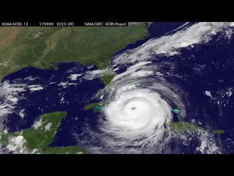 Satellite Animation Sees Category 4 Hurricane Irma