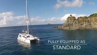X5 SAIL 50' luxury sailing catamaran (drone video)