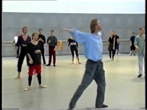 Company class at the Finnish National Ballet Helsinki with Martin Meng