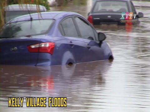 Kelly Village and Trinidad and Tobago witness the biggest floods in their history