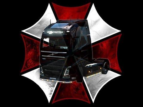 Russian convoy TruckersMP.ru