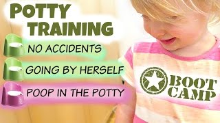 POTTY TRAINING A TODDLER!