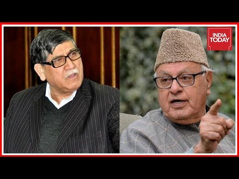 NC MLA Akbar Lone Blamed For Pro-Pak Sloganeering; Farooq Abdullah Condemns Lone's Remarks