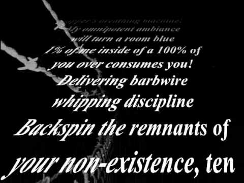 K-Rino - Barbedwire Discipline (Lyrics)