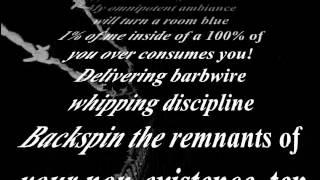 K-Rino - Barbedwire Discipline (Lyrics)