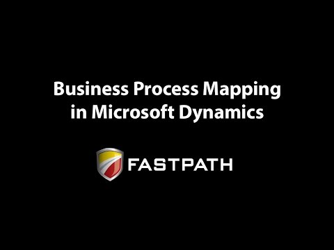 Business Process Mapping in Microsoft Dynamics AX, NAV, GP or SL