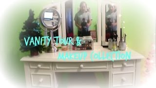 ♥ Vanity Tour & Makeup Collection ♥ Thumbnail