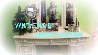 ♥ Vanity Tour & Makeup Collection ♥ Thumbnail