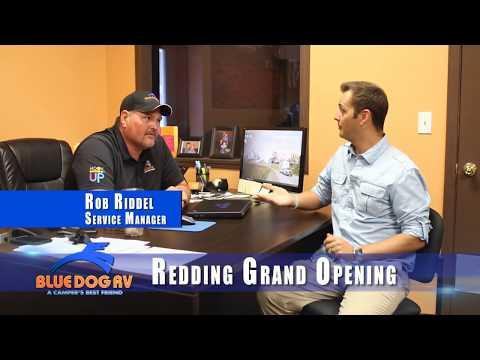 Blue Dog RV Redding California Parts & Service Now Open
