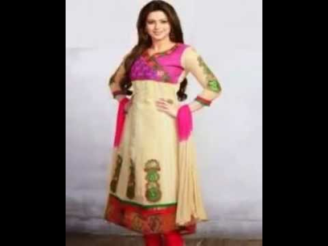 b4980d7473 Anarkali dress in kerala new 2014 designs with price - YouTube