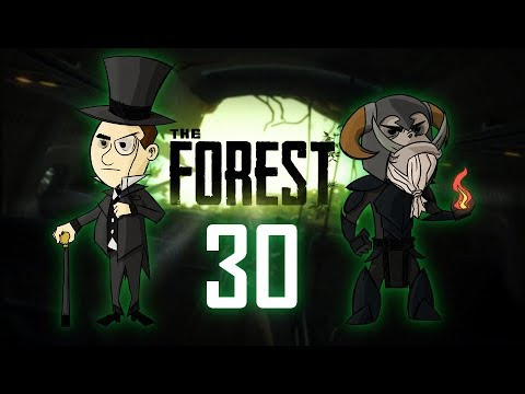 THE FOREST #30 : Straight ahead, third c**pse on the left.