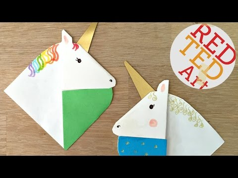 Unicorn Bookmarks with Jenny from Origami Tree (NextUp 2016)