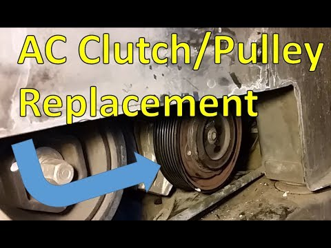 03-07 Accord AC Clutch and Pulley Replacement
