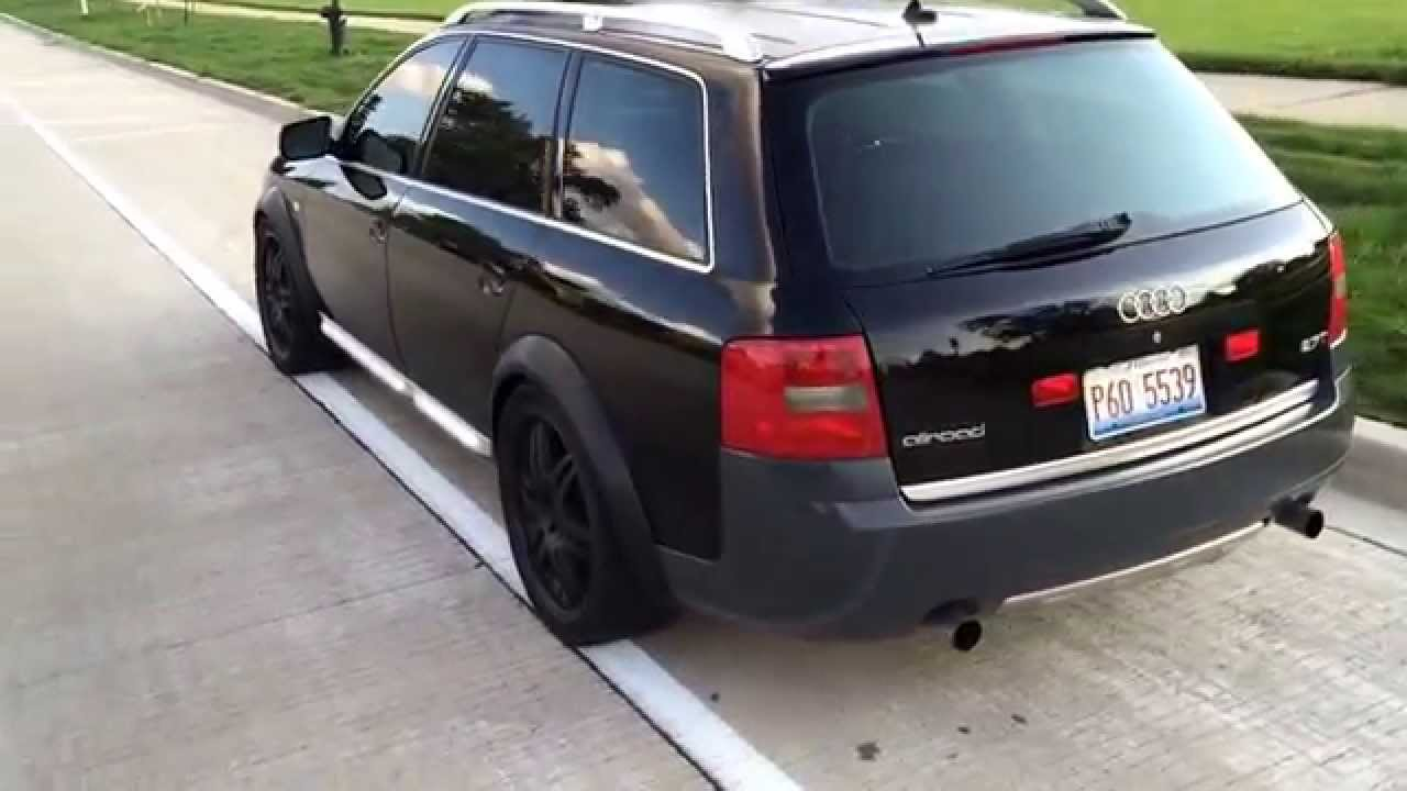 2001 Audi allroad 2.7t Stage 3 Frankenturbo - YouTube