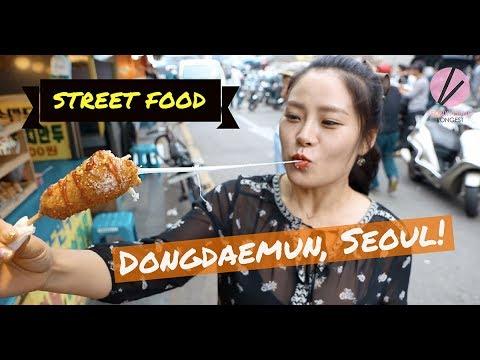 Korean Street Food in Dongdaemun!!