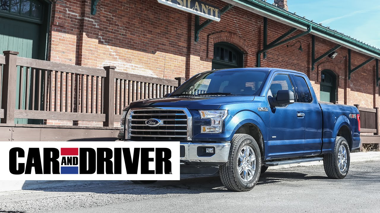 Ford F 150 2 7l Ecoboost 4x4 Review In 60 Seconds Car And Driver You