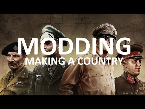 Making a Custom Country - Hearts of Iron...
