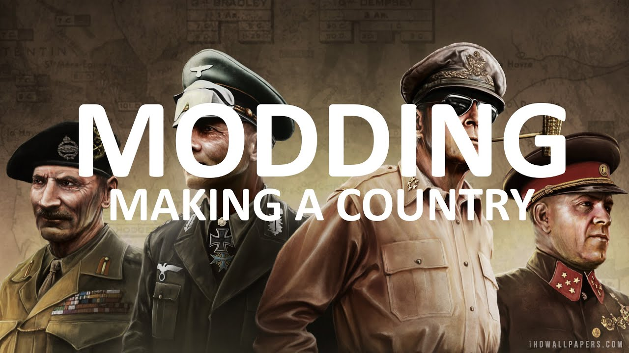 Making a Custom Country - Hearts of Iron IV Modding Tutorial #2